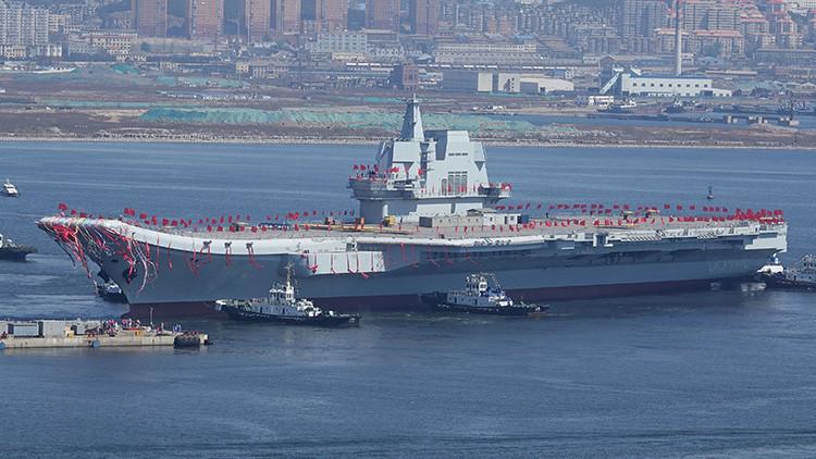 China pondrá a prueba su primer portaviones de fabricación nacional antes de lo planeado