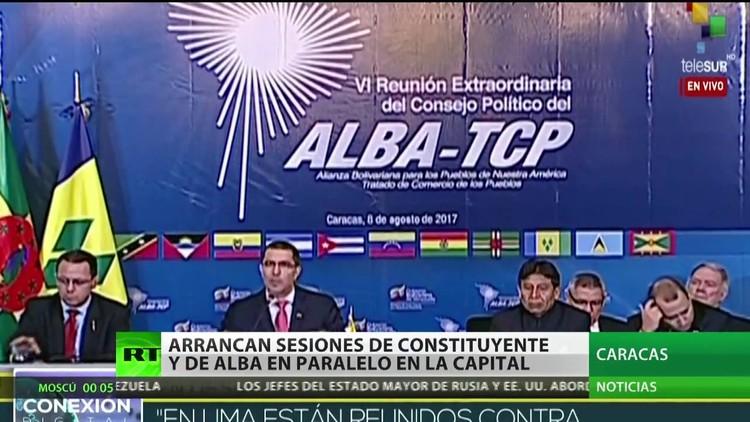 Venezuela: Arrancan en Caracas sesiones de la Constituyente y del ALBA