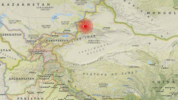Un terremoto de magnitud 6,3 sacude el noroeste de China