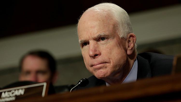 """McCain sobre las amenazas de Trump a Pionyang: """"Hay que estar seguro de poder hacer lo que dices"""""""