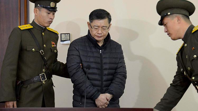 Corea del Norte libera a un pastor canadiense que cumplía una sentencia de cadena perpetua