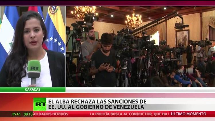 El ALBA rechaza las sanciones de EE.UU. al Gobierno de Venezuela
