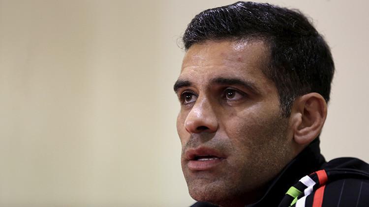 El futbolista Rafa Márquez declara ante la Procuraduría General de México