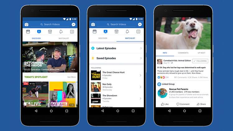 ¿Adiós a YouTube?: Facebook lanza una nueva plataforma para ver series y programas