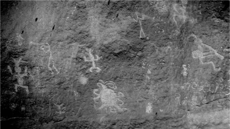 Un petroglifo hallado en EE.UU. podría representar un eclipse solar total visto hace 1000 años