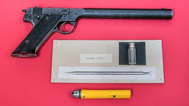 Sorprendentes objetos que la KGB confiscó a espías occidentales (parte 1)