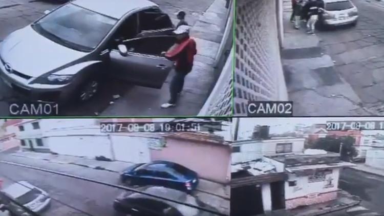 FUERTE VIDEO: Una adolescente intenta robar una camioneta en México y acaba asesinada (18+)