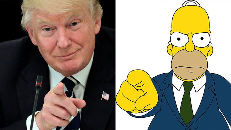 ¿Donald Trump u Homero Simpson? Intente acertar cuál de los dos ha dicho cada una de estas 10 frases
