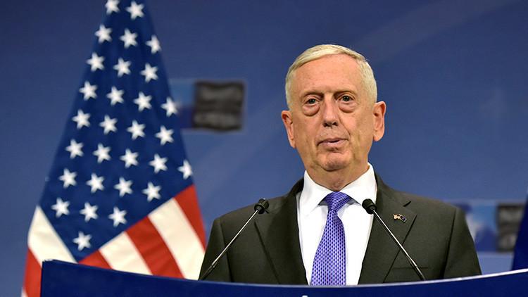 """Secretario de Defensa de EE.UU.: Una guerra contra Corea del Norte sería """"catastrófica"""""""