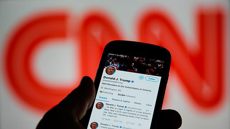 La CNN despide a uno de los más acérrimos defensores de Trump por utilizar un lema nazi
