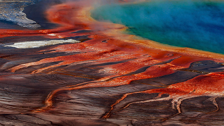 El supervolcán de Yellowstone está deformando la superficie terrestre