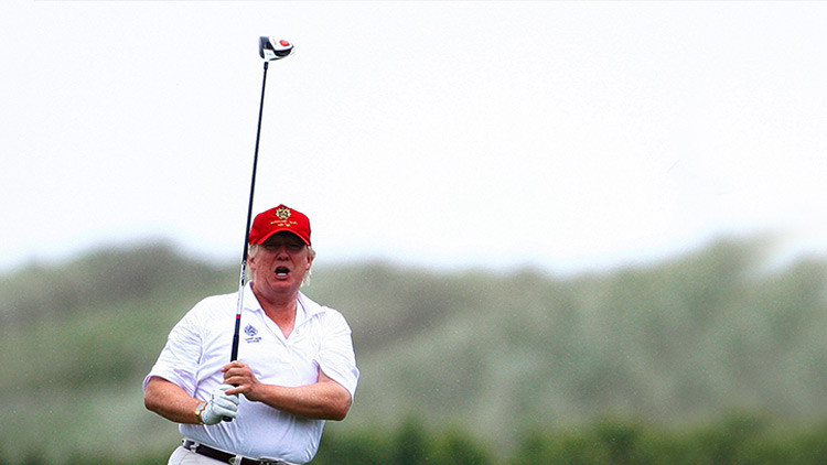 """Corea del Norte: Trump se está volviendo """"senil"""" y juega demasiado al golf"""