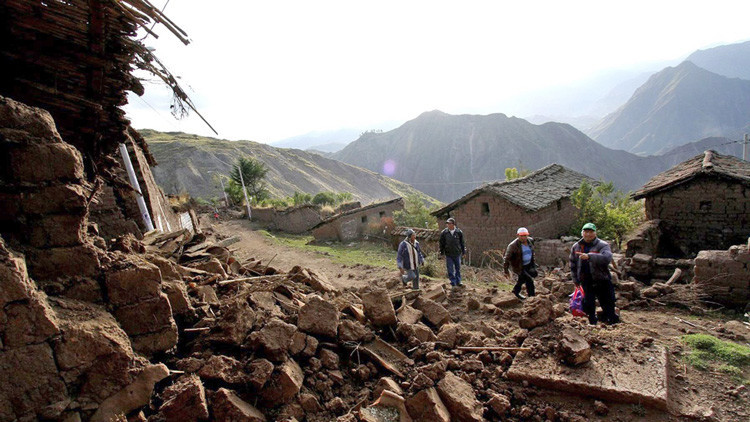 Perú: Un muerto y dos heridos tras un sismo en Arequipa