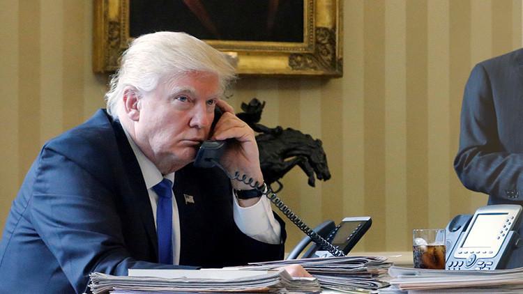 Trump rechaza conversar por teléfono con Maduro