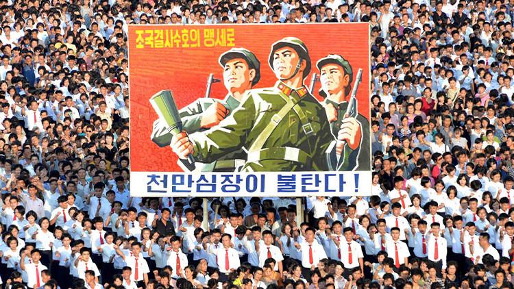 """Casi 3,5 millones de norcoreanos están dispuestos a """"tomar represalias contra EE.UU."""""""
