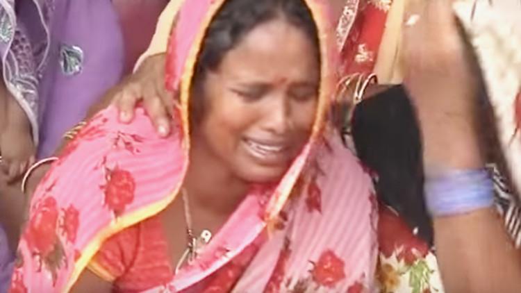 """""""Desgarrador"""": Decenas de niños mueren en un hospital indio al cortarse el suministro de oxígeno"""
