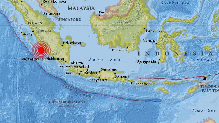 Un terremoto de magnitud 6,4 sacude Indonesia