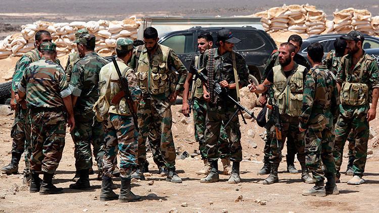 El Ejército sirio libera con el apoyo de Rusia el último bastión del EI en la provincia de Homs