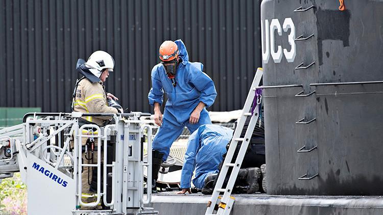 Misterio sin resolver: Reflotan el submarino hundido, pero no hallan a la periodista desaparecida