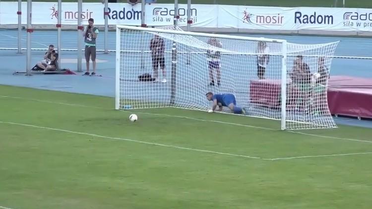 Polonia: Un inusual gesto de 'fair play' en un partido de fútbol