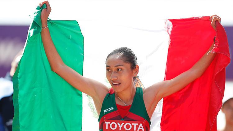 La mexicana Guadalupe González gana la medalla de plata en el Mundial de Atletismo