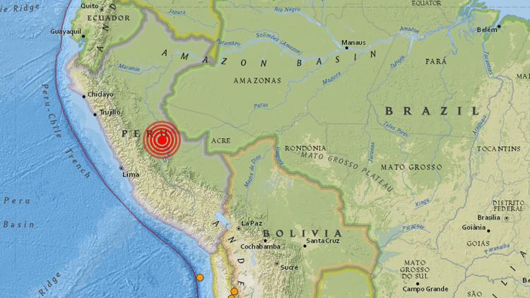 Un terremoto de magnitud 5,6 sacude la zona central de Perú