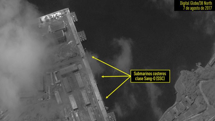 Corea del Norte podría preparar una prueba de submarinos lanzamisiles