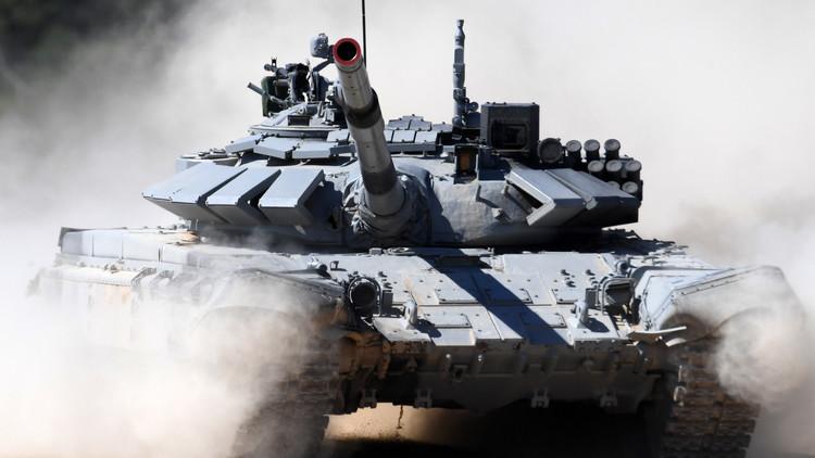 Video: Tanque ruso T-72M1 resiste en Siria el impacto de un misil antitanque estadounidense
