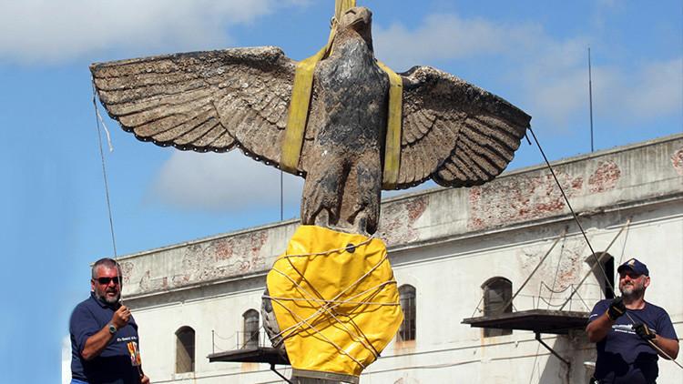 ¿Quiere pujar por esta águila nazi en Uruguay? (VIDEO)