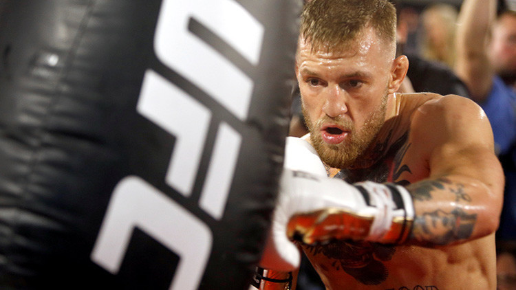 Fotos: Los métodos poco ortodoxos de entrenamiento que McGregor 'le propone' a Mayweather