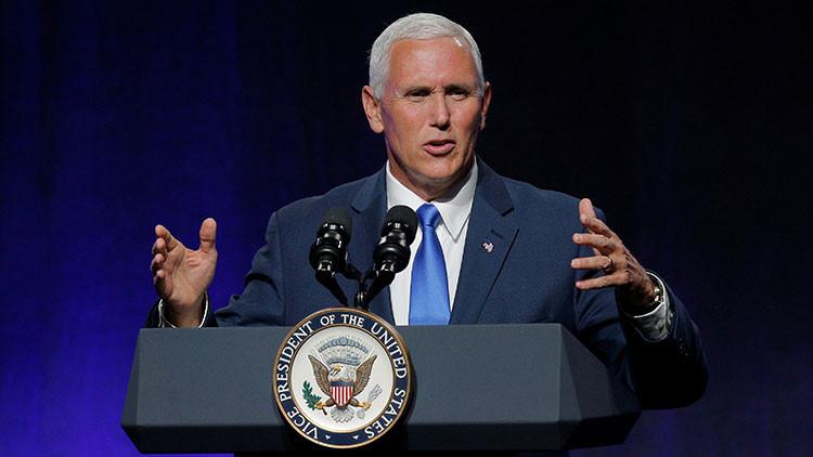 """Vicepresidente de EE.UU.: la crisis venezolana """"amenaza la seguridad y prosperidad de nuestro país"""""""