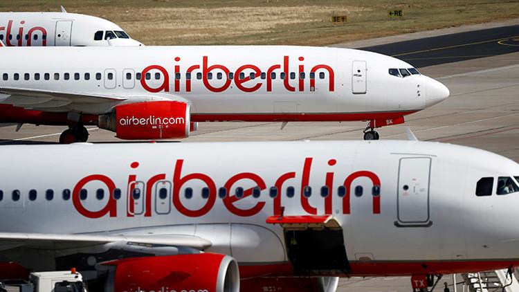 La segunda mayor aerolínea alemana Air Berlin inicia el proceso de quiebra