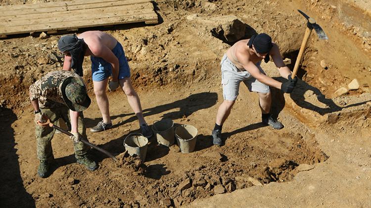 Descubren en Crimea un altar del siglo III a.C. de los espartanos
