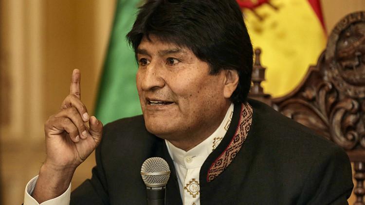 """Morales condena las """"inaceptables"""" críticas """"intervencionistas"""" de Pence sobre Venezuela"""