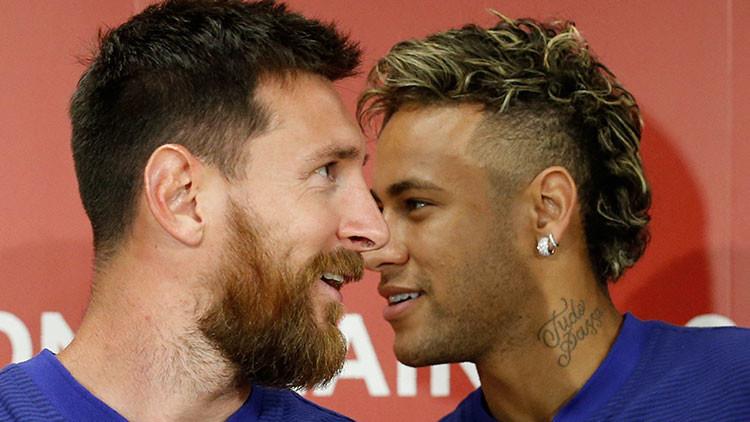 Messi le hizo a Neymar una oferta para que no dejara el Barcelona