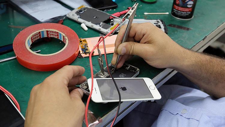 Filtran videos secretos de una planta de fabricación de iPhone 8