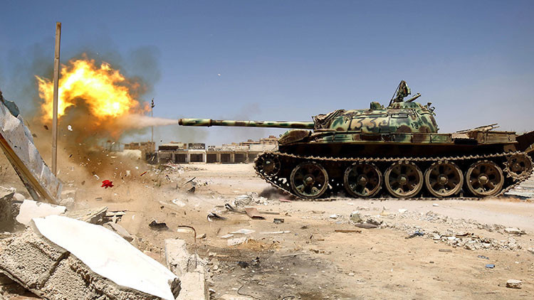 """General libio a RT: """"No cederemos ni una pulgada de nuestra tierra"""""""