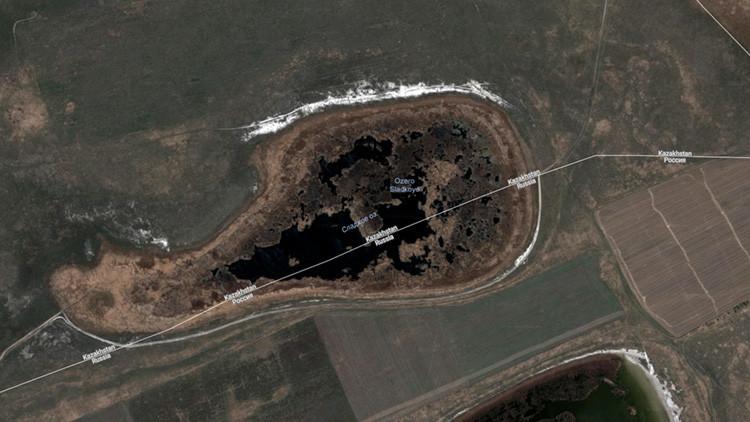 La increíble historia de un lago ruso que 'huyó' a un país vecino