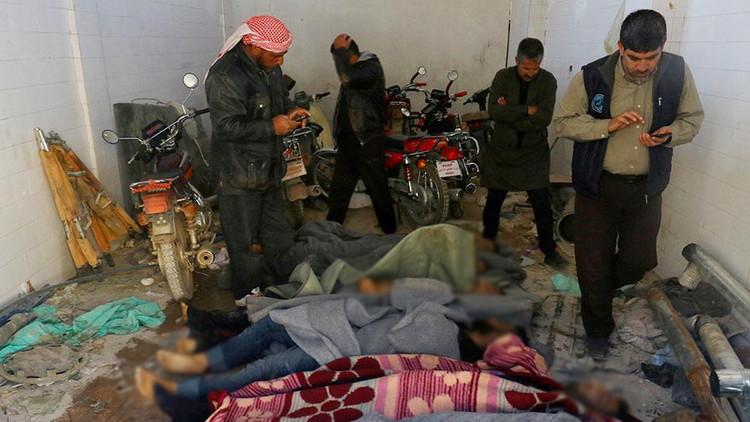 """Cancillería siria: """"El supuesto ataque químico en Jan Sheijun es una puesta en escena"""""""