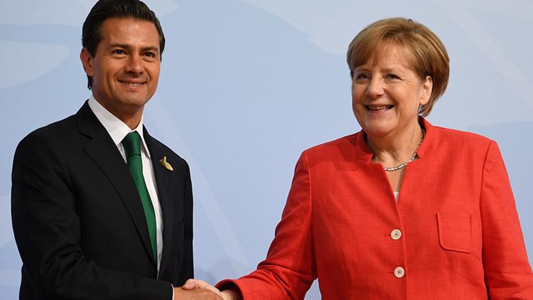 La visita de la canciller alemana le costó al Estado mexicano más de 200.000 dólares