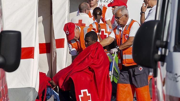 España no tiene capacidad para acoger el número de refugiados que llegan a sus costas