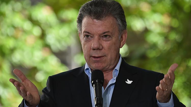 Presidente Santos alienta a la comunidad internacional a presionar en caso Venezuela