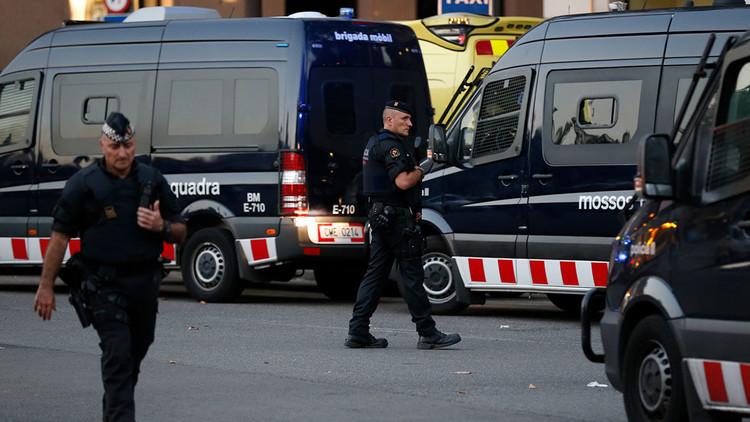 Policía: el atentado de Barcelona está vinculado a la explosión de una casa la noche anterior