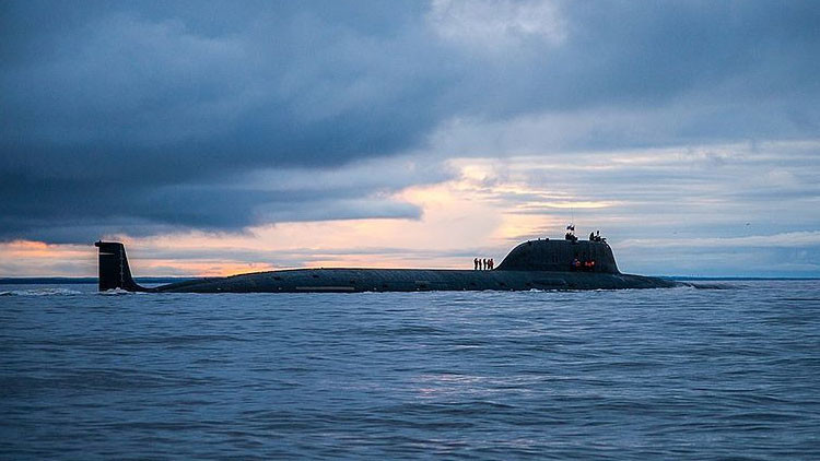 VIDEO: El submarino nuclear ruso Severodvinsk lanza un misil Kalibr en el mar de Barents