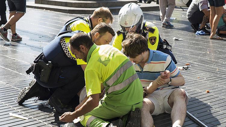 """Testigos del atentado en Barcelona: """"Vi cuerpos de niños que yacían en la calle"""""""