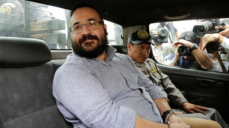 El exgobernador mexicano Javier Duarte inicia una huelga de hambre y la Red no lo perdona