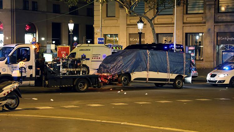 Las cámaras de seguridad de un hotel grabaron al presunto autor del ataque en las Ramblas