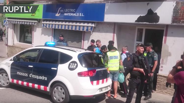 VIDEO: Momento de la captura del cuarto sospechoso de los atentados en Cambrils y Barcelona