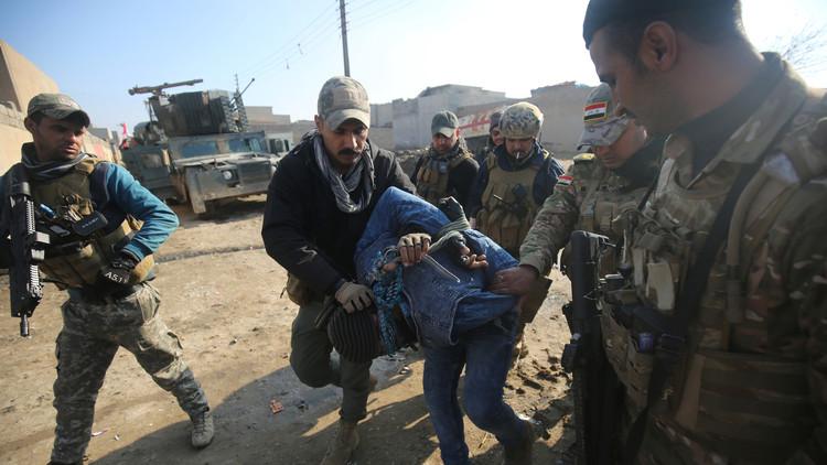 Irak admite que sus fuerzas especiales abusaron de civiles mientras recuperaban Mosul