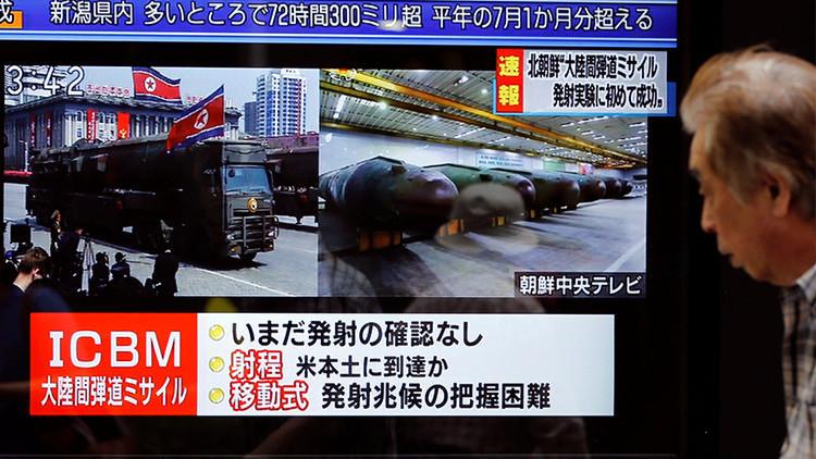 Pionyang: Las armas nucleares de Corea del Norte solo apuntan a EE.UU.